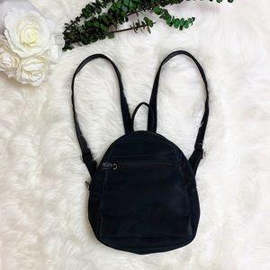HOBO Mini Backpack Black Nylon